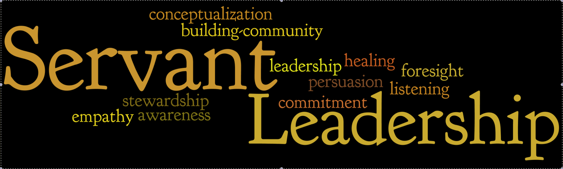 Do you consider yourself a servant leader? - Humphrey Fellows at Cronkite School of Journalism and Mass Communication - ASU