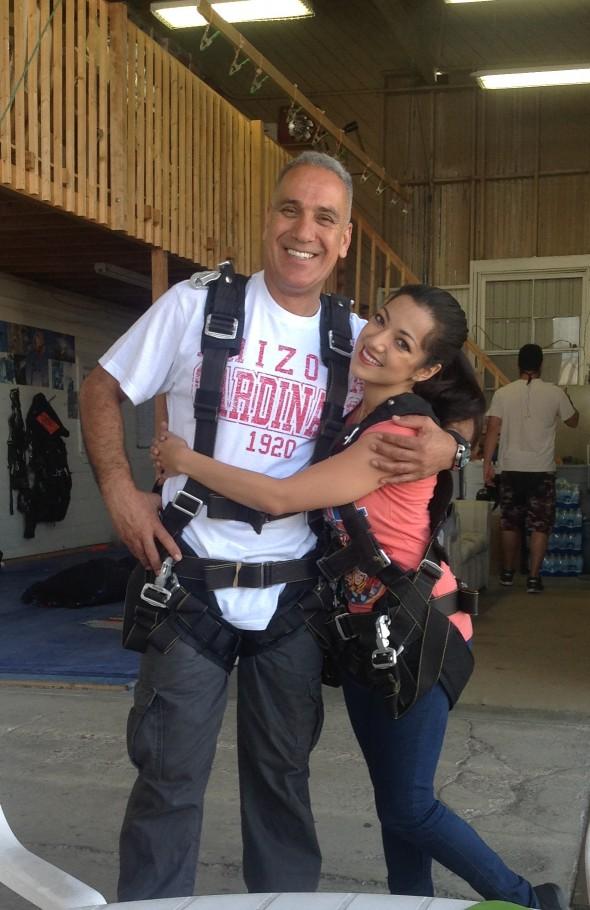 Shirin Ahmadpour Sky Dive