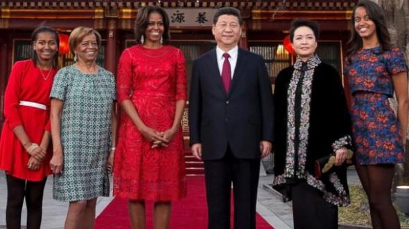 Obama's in China