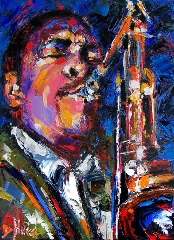 Debra Hurd, John Coltrane, 2009.