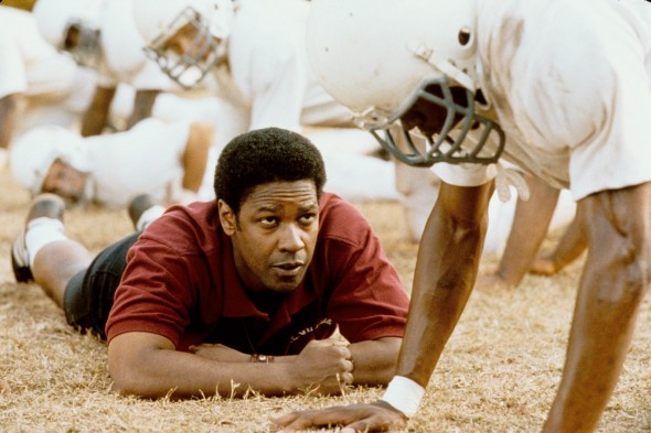 Coach Boone committed to the team, both on the field and in the player's personal lives, as he helped them get into college and start accepting one another.