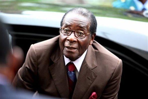 President of Zimbabwe picture courtesy BBC