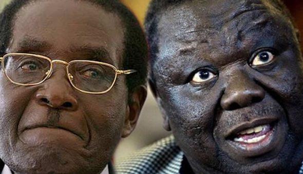Mugabe, Opposition leader Tsvangirai