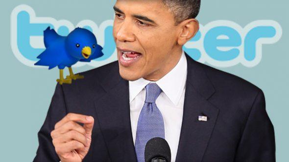 Twitter stalwart, and US President Barack Obama