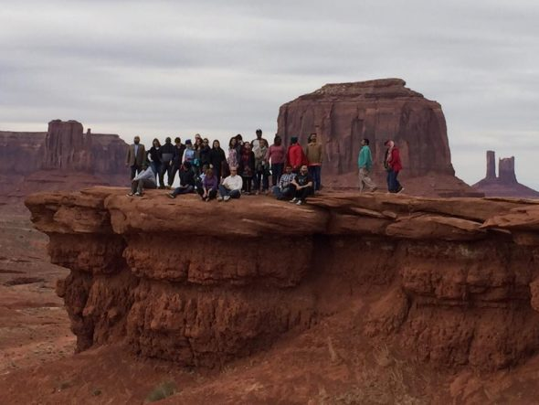 The Fellows at Monument Valley