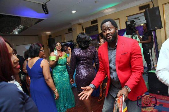 Nigerians celebrating in the UK ( courtesy Adewunmi Adisa)