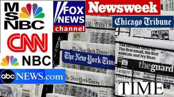Media outlets in the US