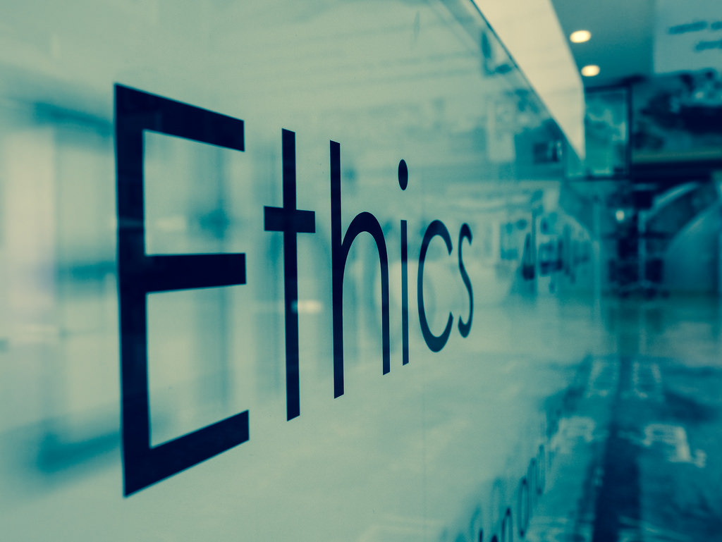 my personal code of ethics  applying personal views in the