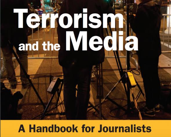 Screen Shot of UNESCO's Handbook for Journalists.
